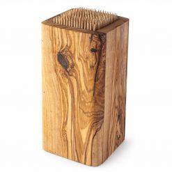 Slotless Wood Knife Block