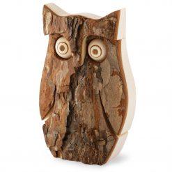 Owl Figurine for Home Decor Table