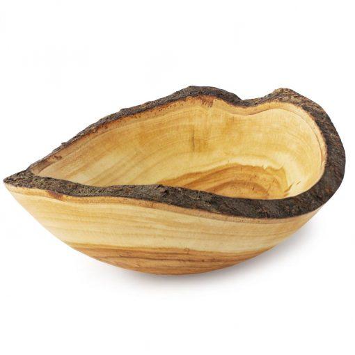 Wooden Serving Bowl Decor