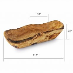 Wood Bread Bowl Size