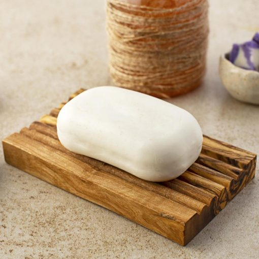 Wooden Soap Dish - Groove