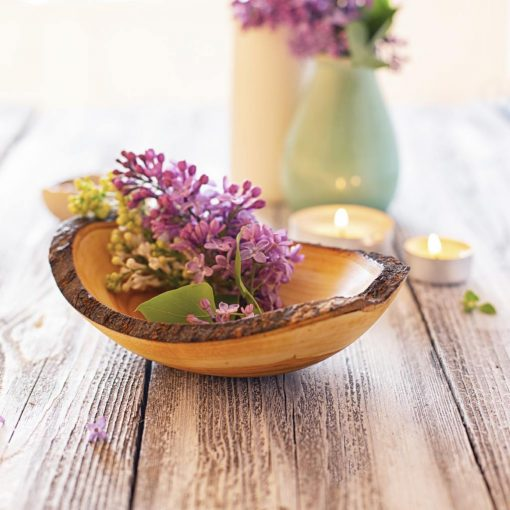Serving Bowl with Flowers