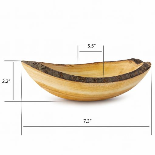 Wood Serving Bowl Outer Size
